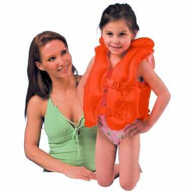 Oranje zwemvest voor kinderen