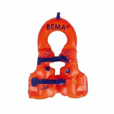 Oranje zwemvest / zwemvest 1 2 jaar